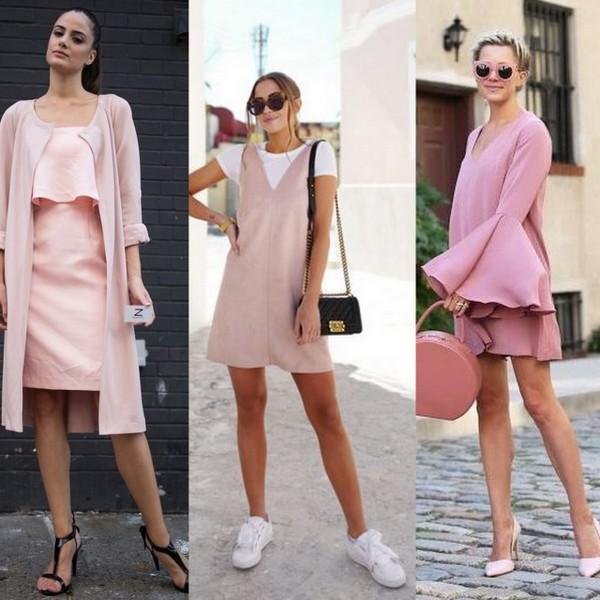 Vestidos no tom do momento, o rosa millennial